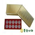 [공진단상자]10환 종이상자(스폰지)약장무늬