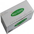 멸균 1회용 위생장갑 KR-1(1PCS)-Poly Glove 1매포장.사이즈 : Medium