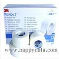 마이크로포 의료용 테이프(화이트)3M 테이프 1인치 흰색 1530-1
